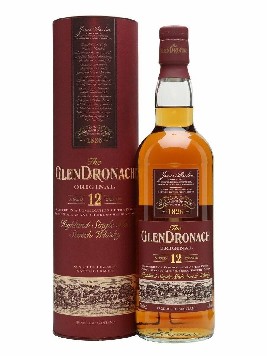 Glendronach 12 700ML