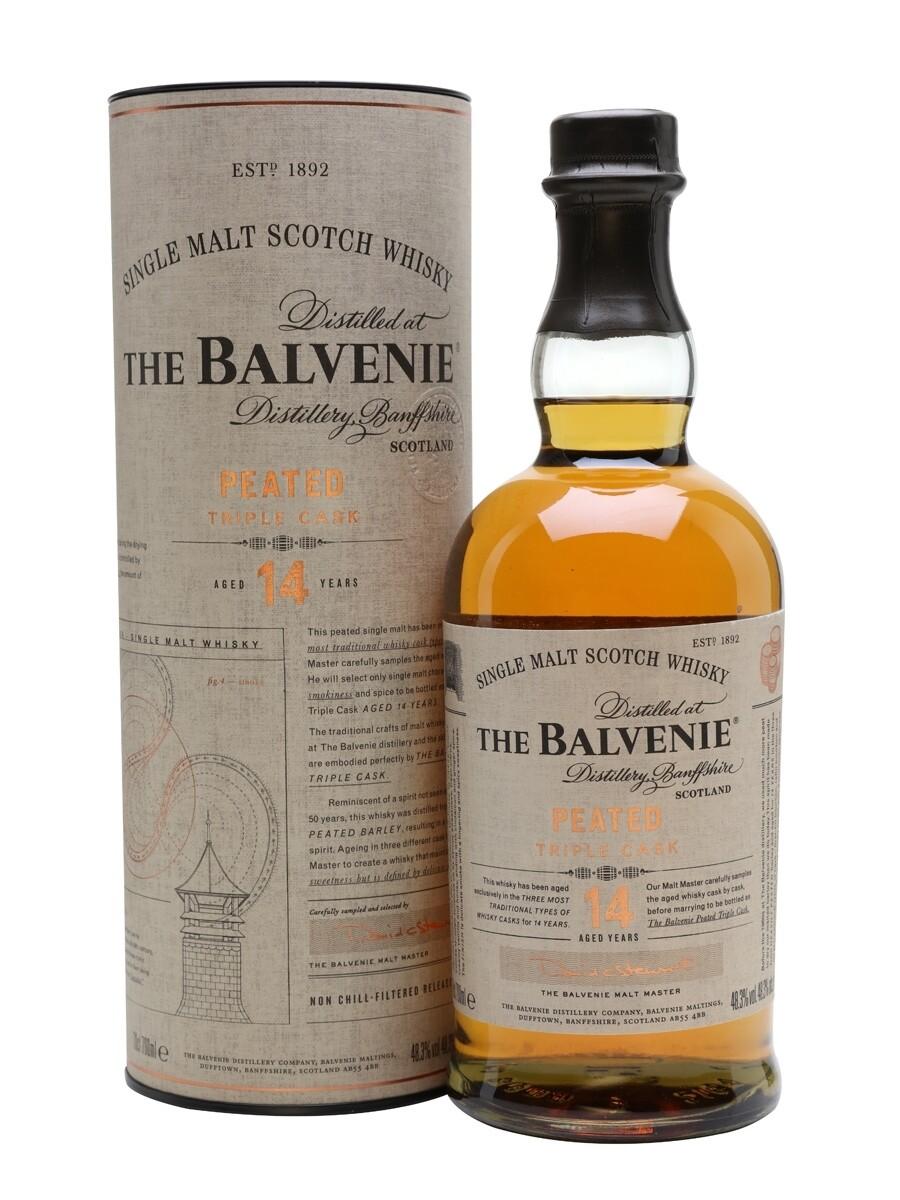 Balvenie 14 YO Peated Triple Cask - 700ML
