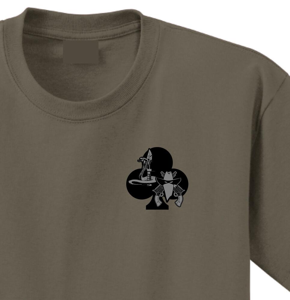 """1-327th C CO 2PLT """"Outlaws"""" Shirt"""