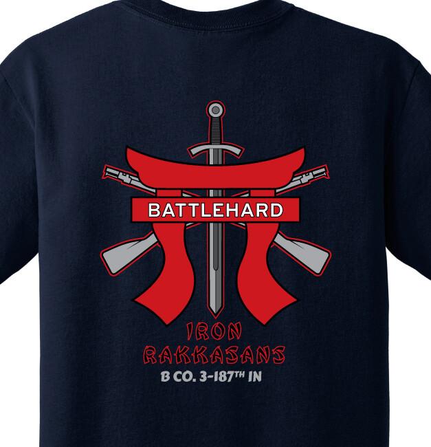 "3-187th B CO ""Battlehard"" Shirt"