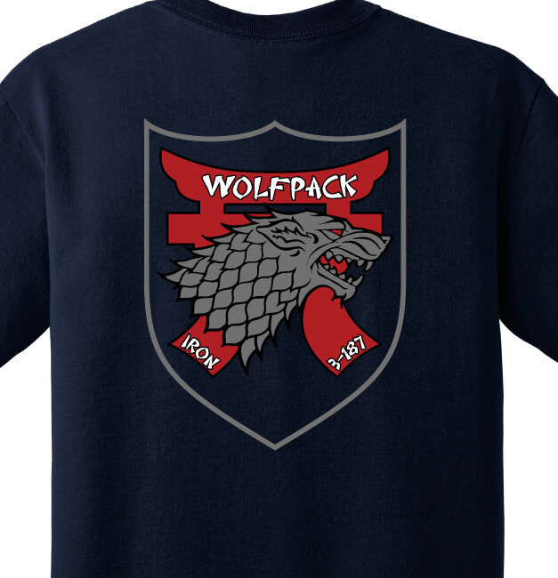 "3-187th D CO ""WolfPack"" Shirt"