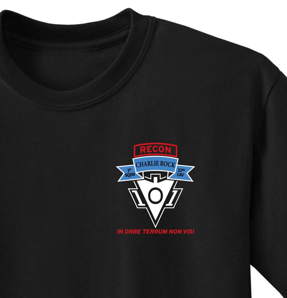 "1-32 CAV C TRP ""Charlie Rock"" Shirt"