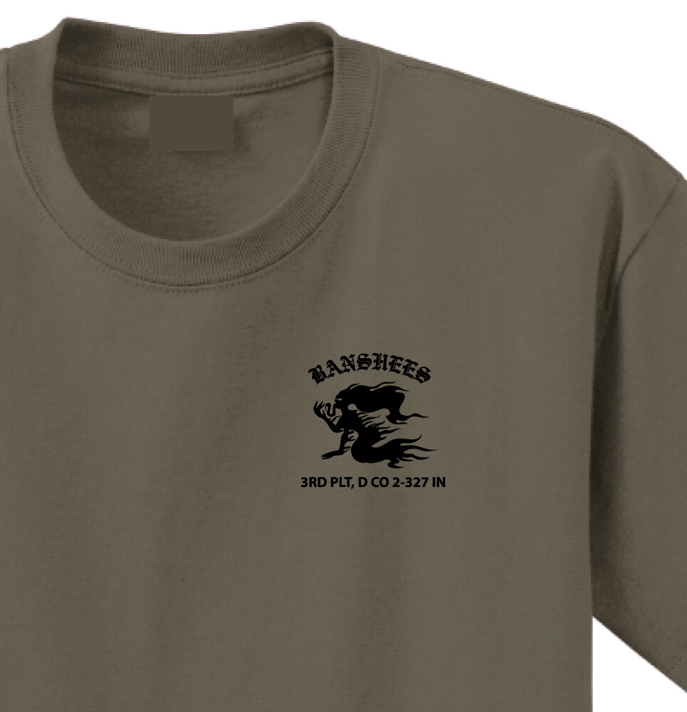 "2-327th D CO 3PLT ""Banshees"" Shirt"