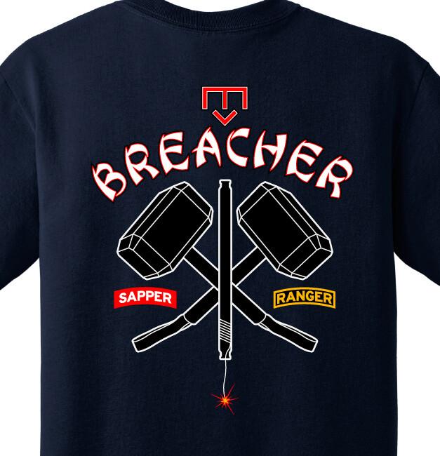 """21 BEB B CO """"Breacher"""" Shirt"""