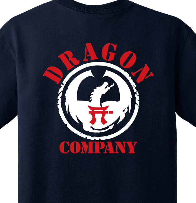 "1-187th D CO ""Dragon"" Shirt"