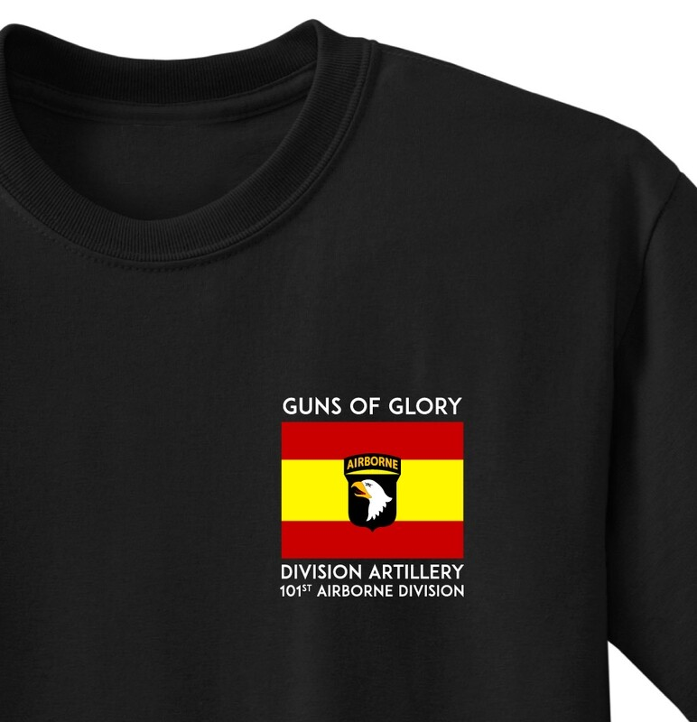 "101st DIVARTY ""Guns of Glory"" Shirt"