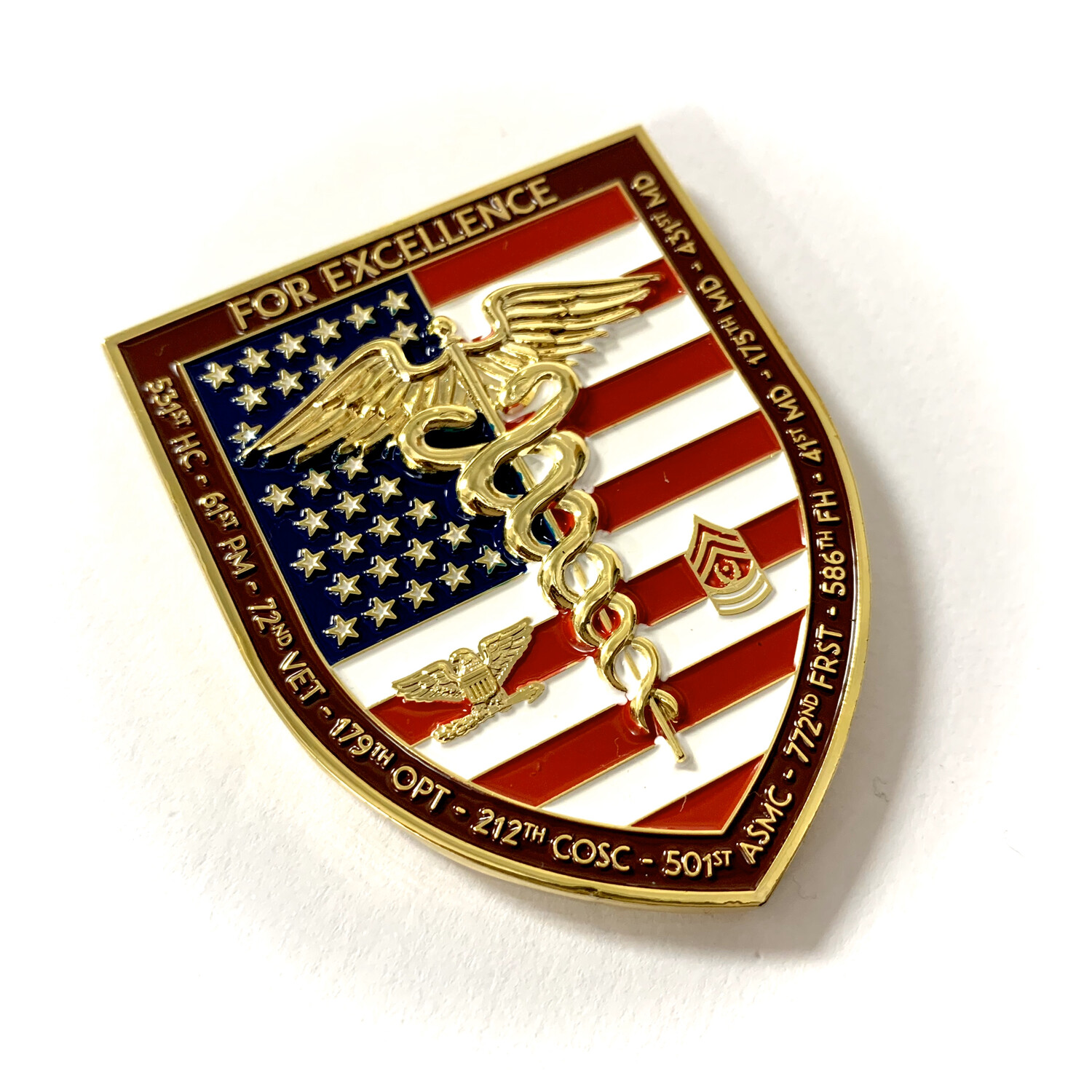 44th Medical Brigade Coin