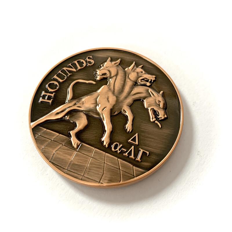 """""""Hounds"""" 3BCT Coin"""