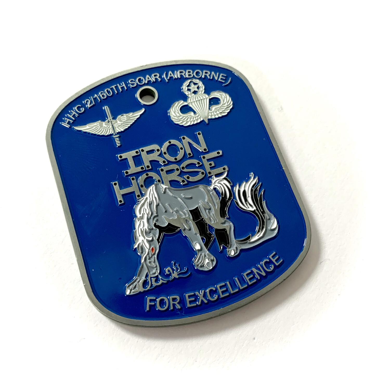 """Iron Horse"" 2/160th SOAR(Abn) Coin"