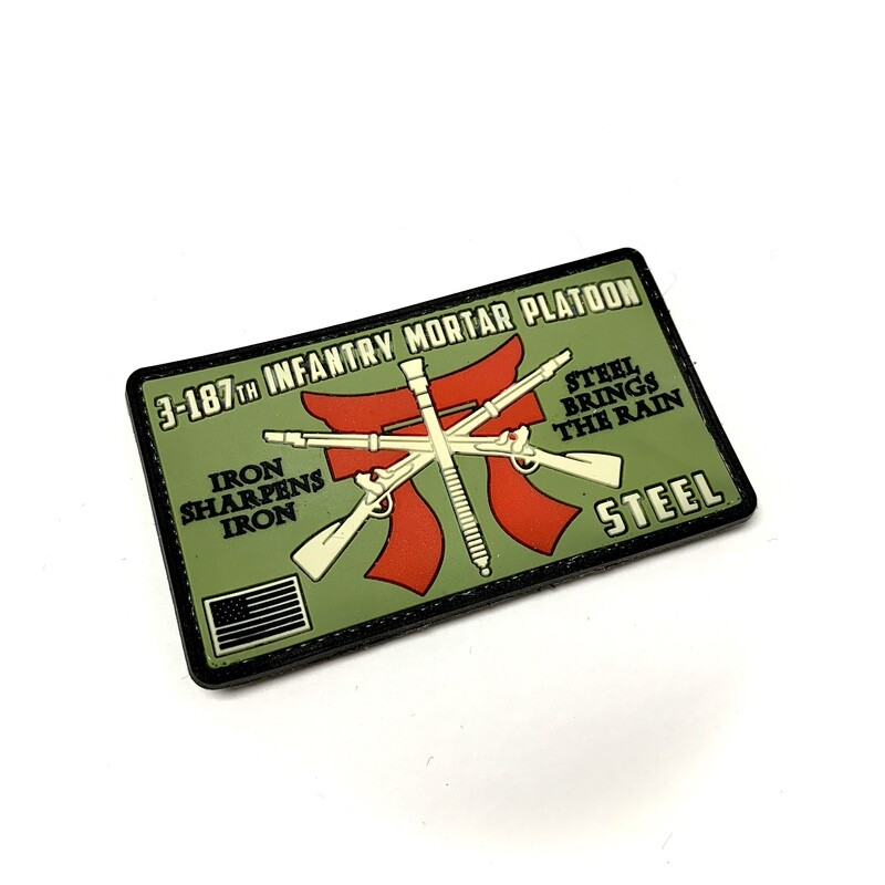 3-187th INF Mortar Platoon Patch