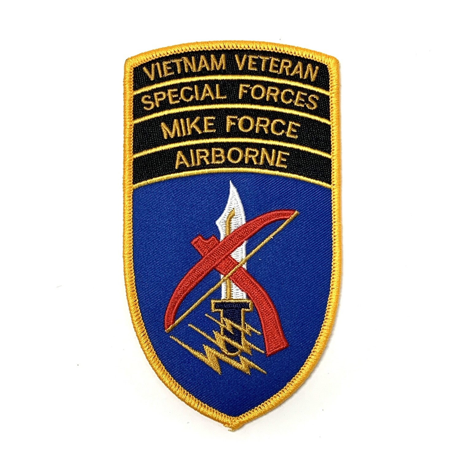 """Mike Force"" Vietnam Era Reproduction Patch"