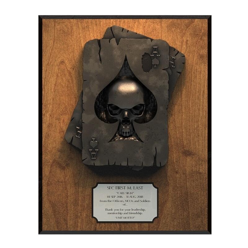 Deathdealer Plaque