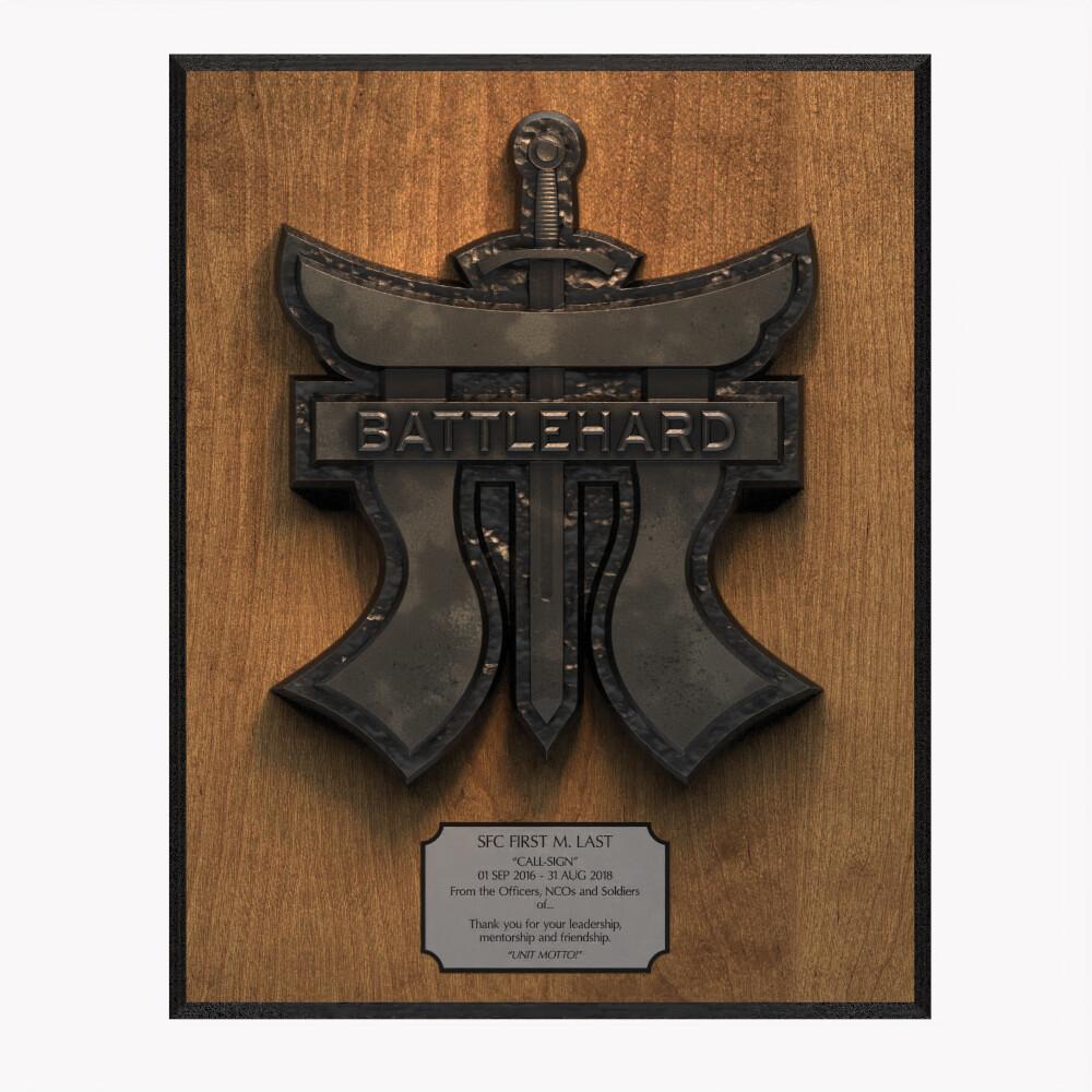 Battlehard Plaque