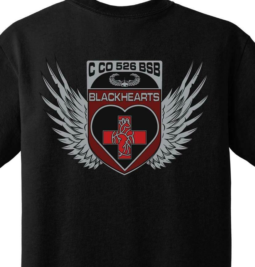 """C Co 526 BSB """"Blackhearts"""" PT Shirt"""