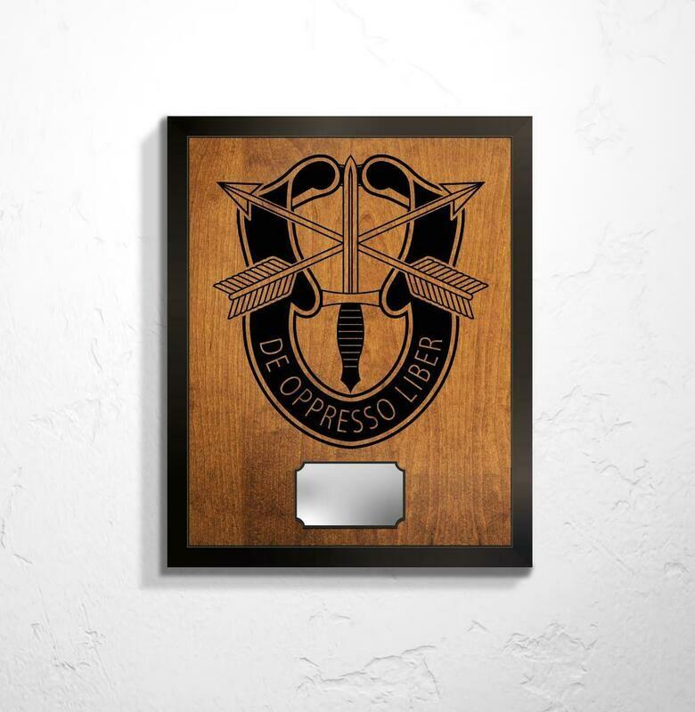 Special Forces Crest Plaque 20.5