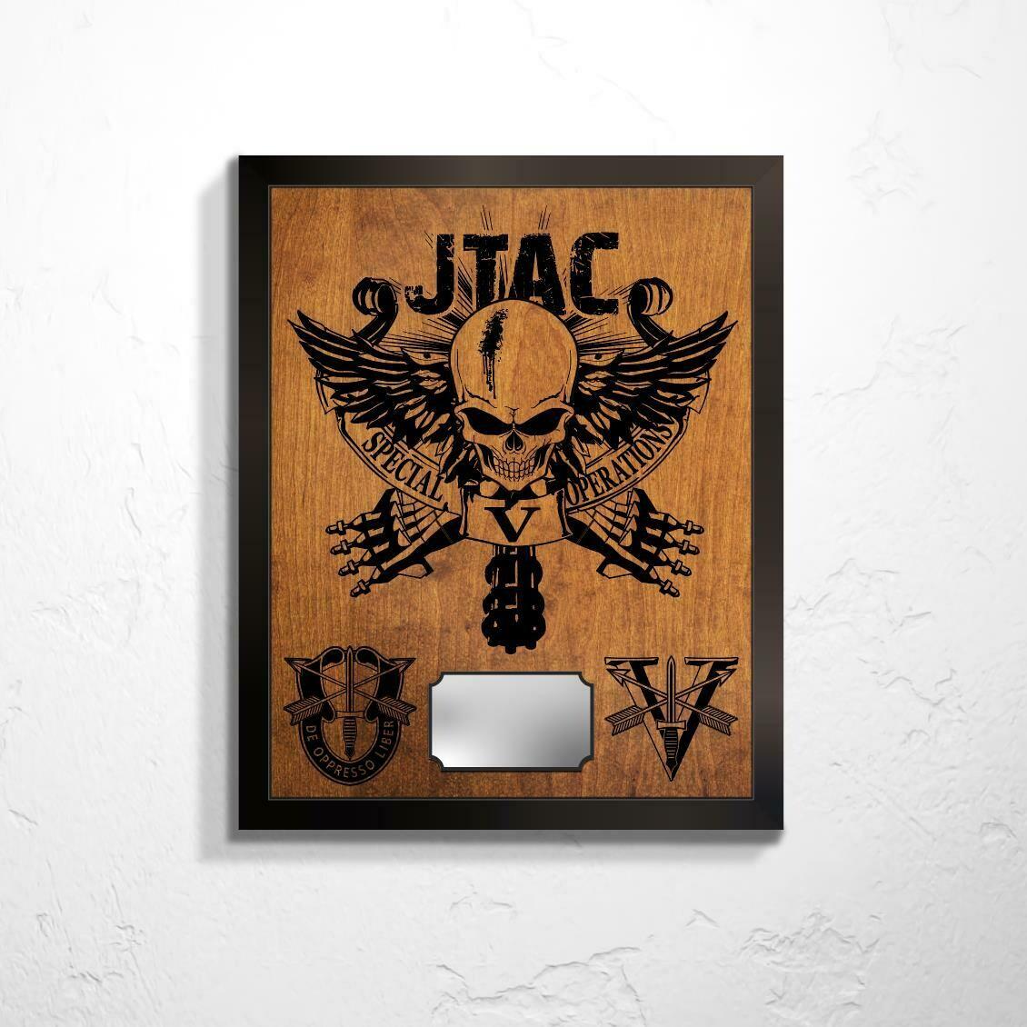 "5th SFG(A) JTAC Plaque 20.5""x16.5"""