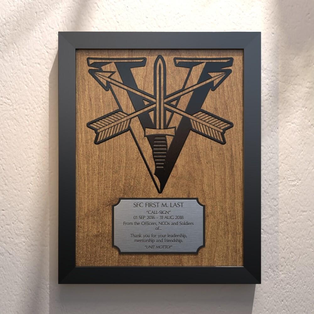 "Fifth Legion Plaque - 13.5""x10.5"""