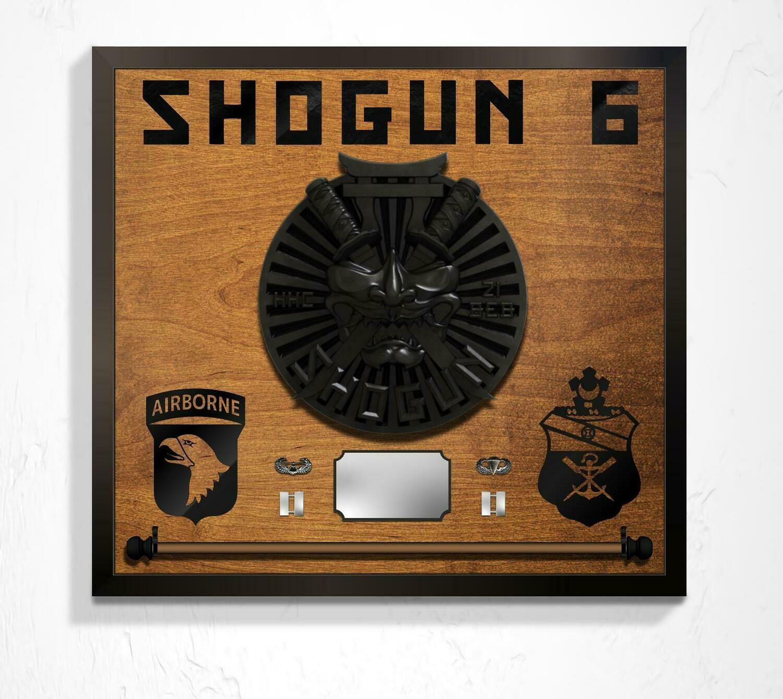 "Shogun 21 BEB Guidon Hanging Plaque - 25.5"" x 23.5"""