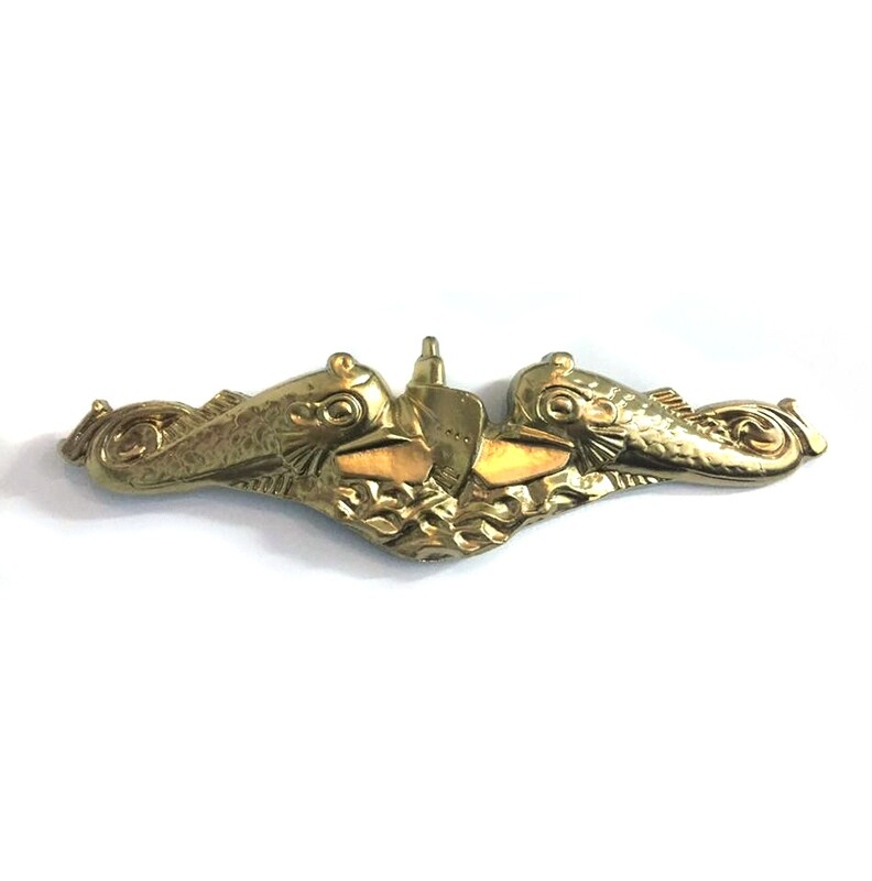Submarine Warfare Badge in Gold and Silver