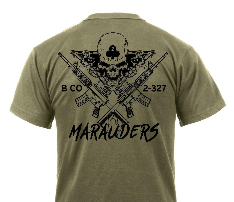 "1st Platoon ""Marauders"" 2-327th Shirt"