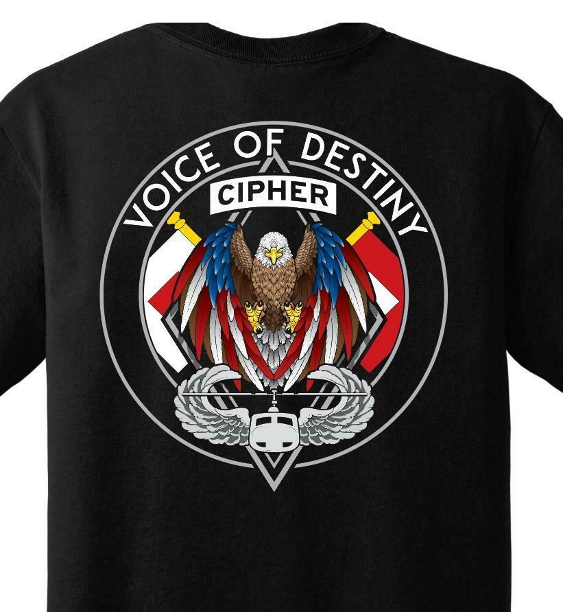 "Charlie Company ""CIPHER"" 96th ASB Shirt"