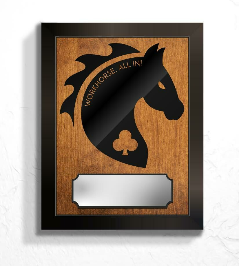 "Alpha Company 426 BSB ""Workhorse"" Plaque - 13.5""x10.5"""