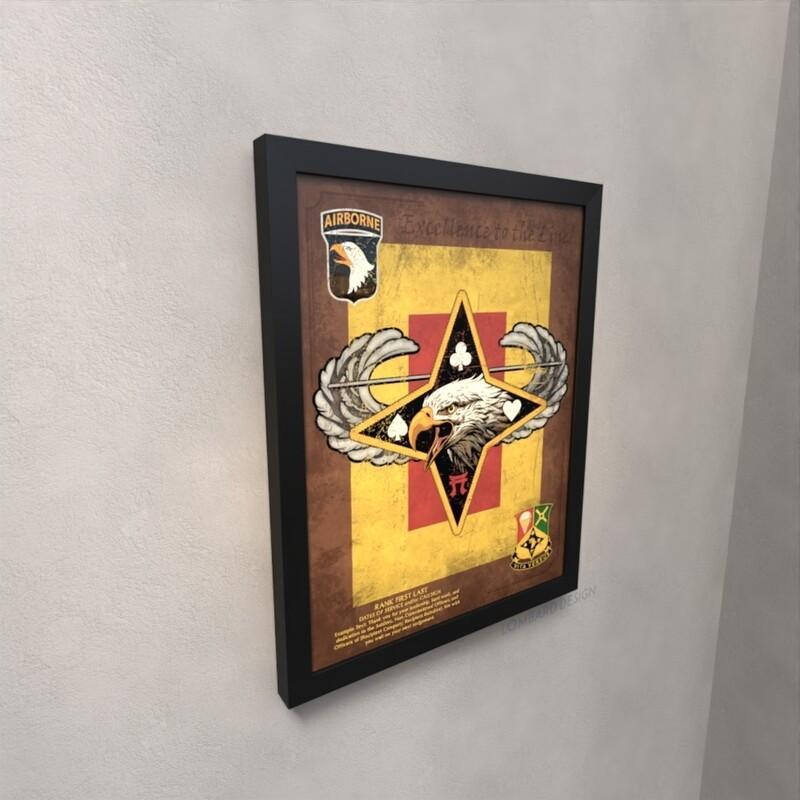 101st Division Sustainment Brigade Plaque - 20.5