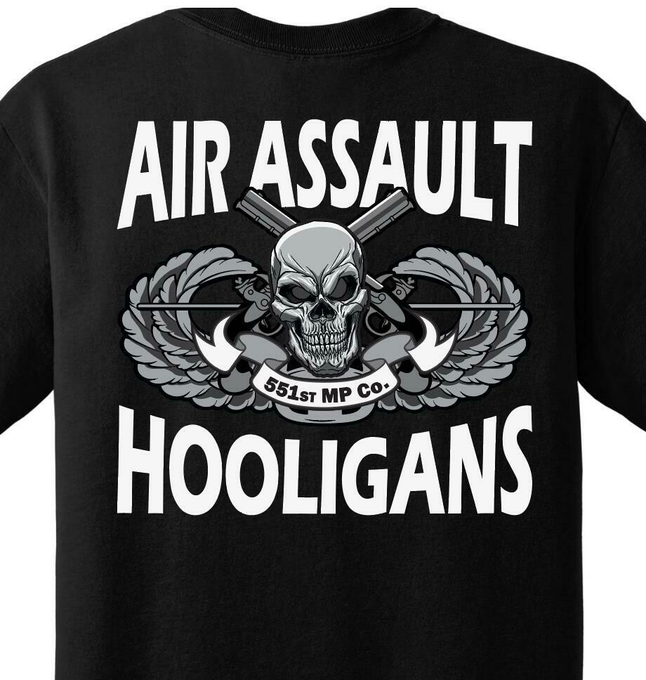 551st MP Co. Hooligans Shirt