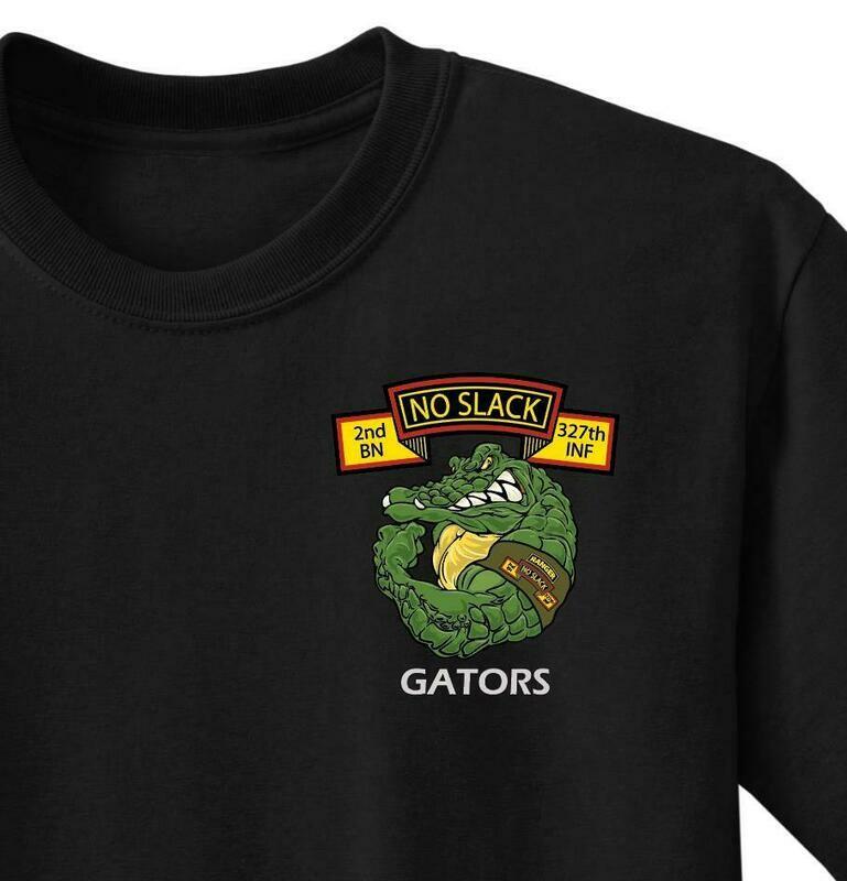 "A Co ""GATOR"" 2-327th IN Shirt"