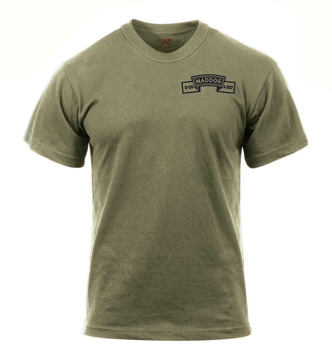 Savage Platoon Maddog Co. 1-327th IN Shirt