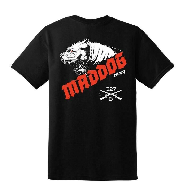 Maddog Co. 1-327th IN Shirt