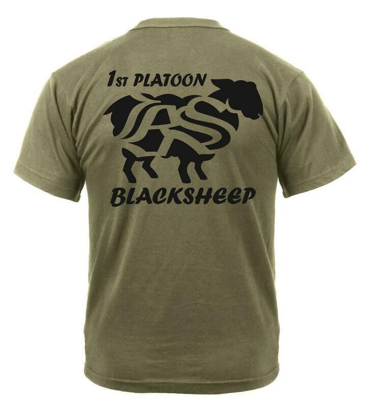 1st Platoon Blacksheep, 2-502 PT Shirt or Hoodie