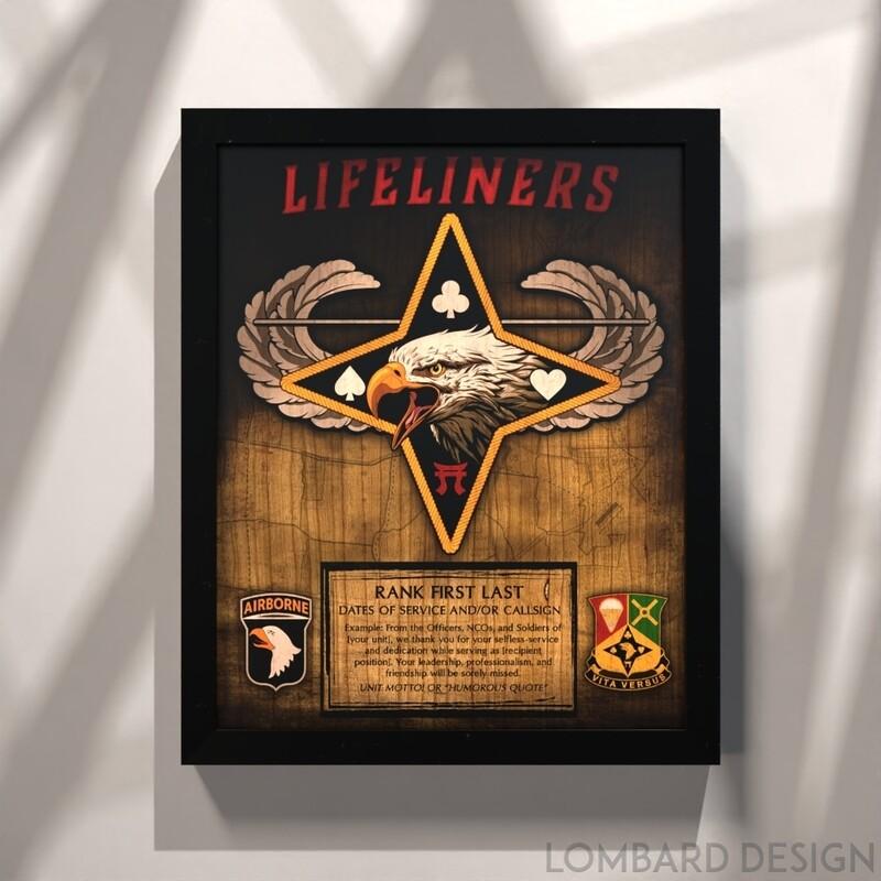 101st Division Sustainment Brigade Plaque - 11