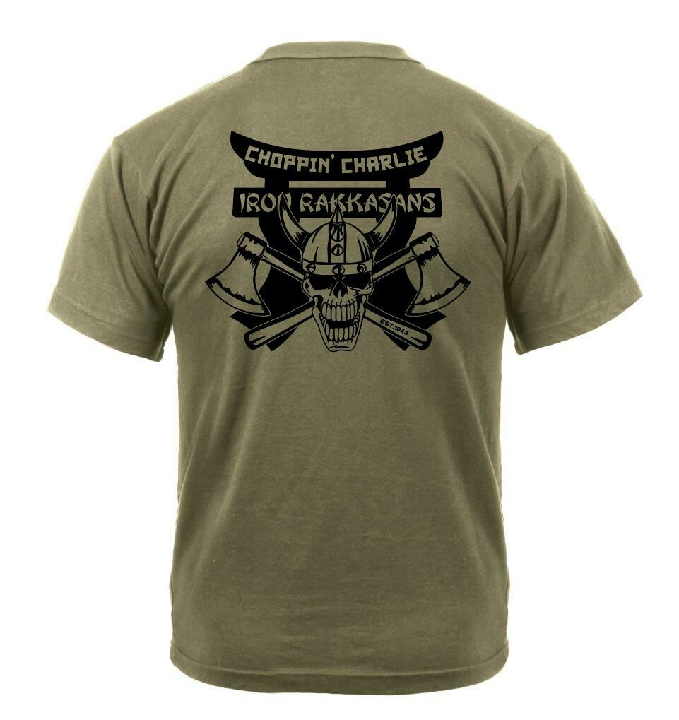 """Choppin' Charlie"" 3-187th Coyote Shirt"