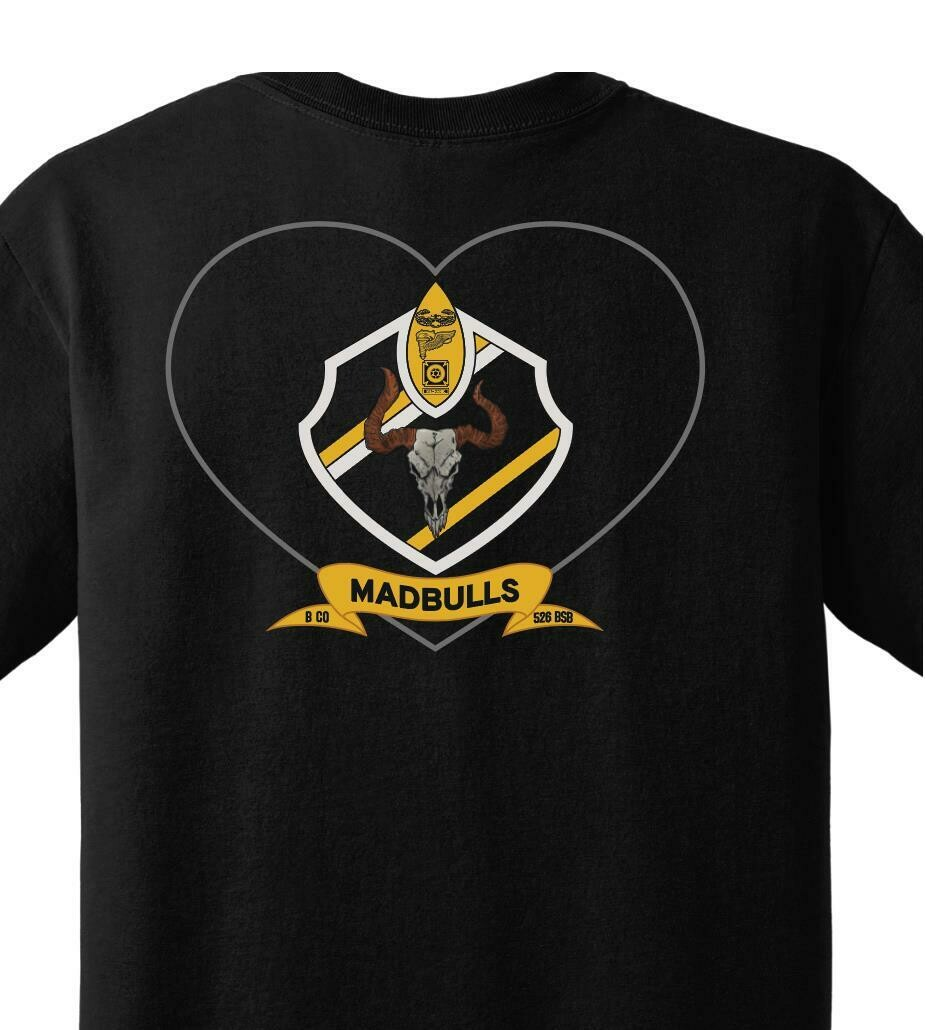 "B Co ""MADBULLS"" 526 BSB PT Shirt"