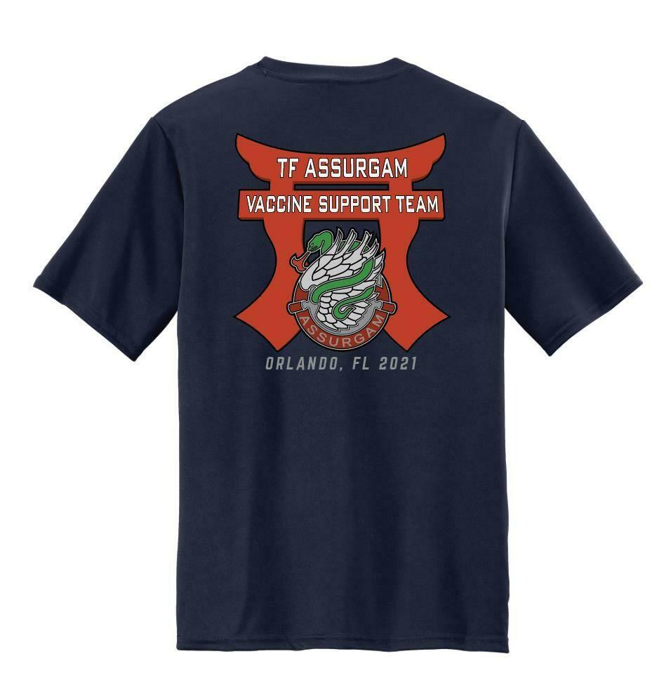 """TF Assurgam"" Vaccine Support Shirt"