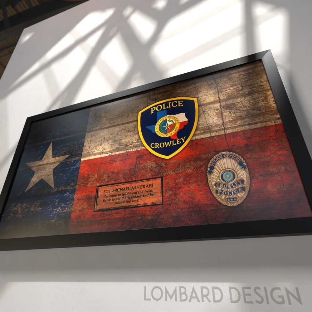 "Rustic Texas Flag Plaque - 28.5""x15.75"""