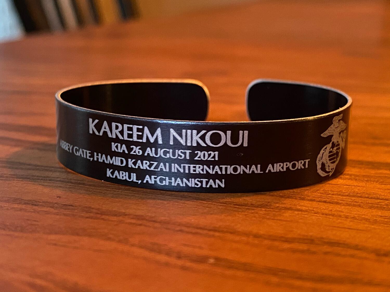 Kareem Nikoui Memorial Bracelet