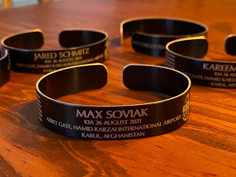 Max Soviak Memorial Bracelet