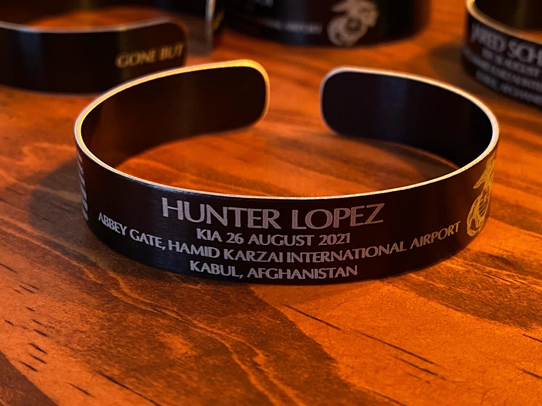 Hunter Lopez Memorial Bracelet