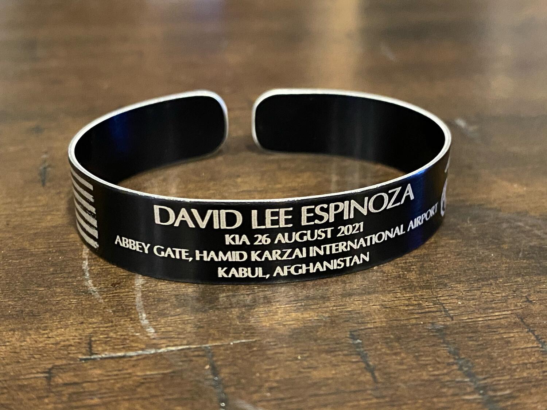 David Lee Espinoza Memorial Bracelet
