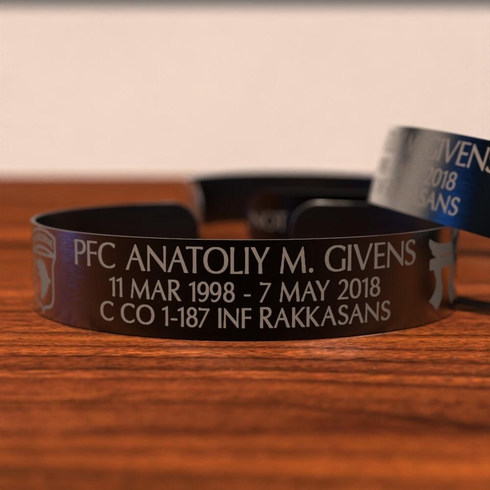 Anatoliy Givens Memorial Bracelet