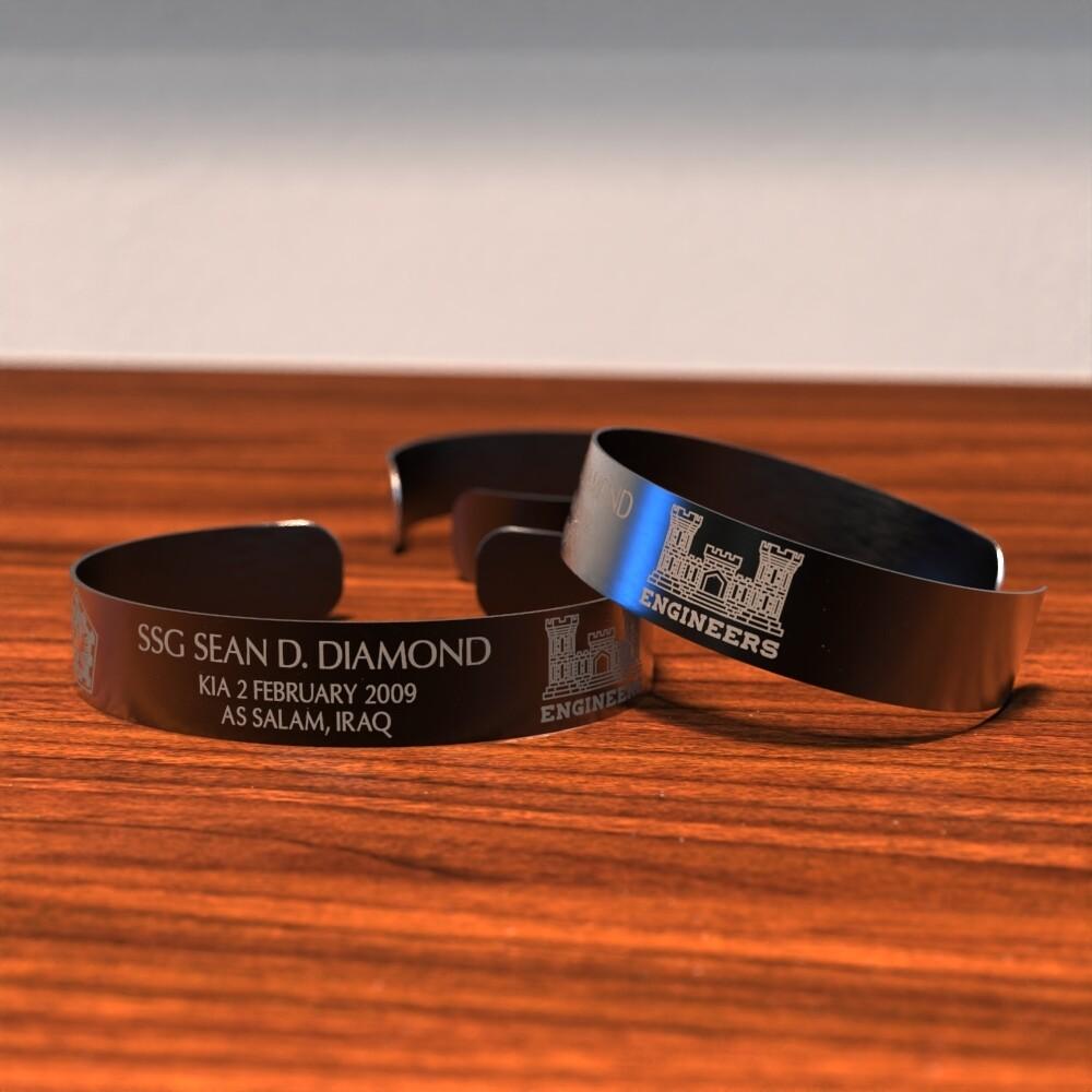 Sean Diamond Memorial Bracelet
