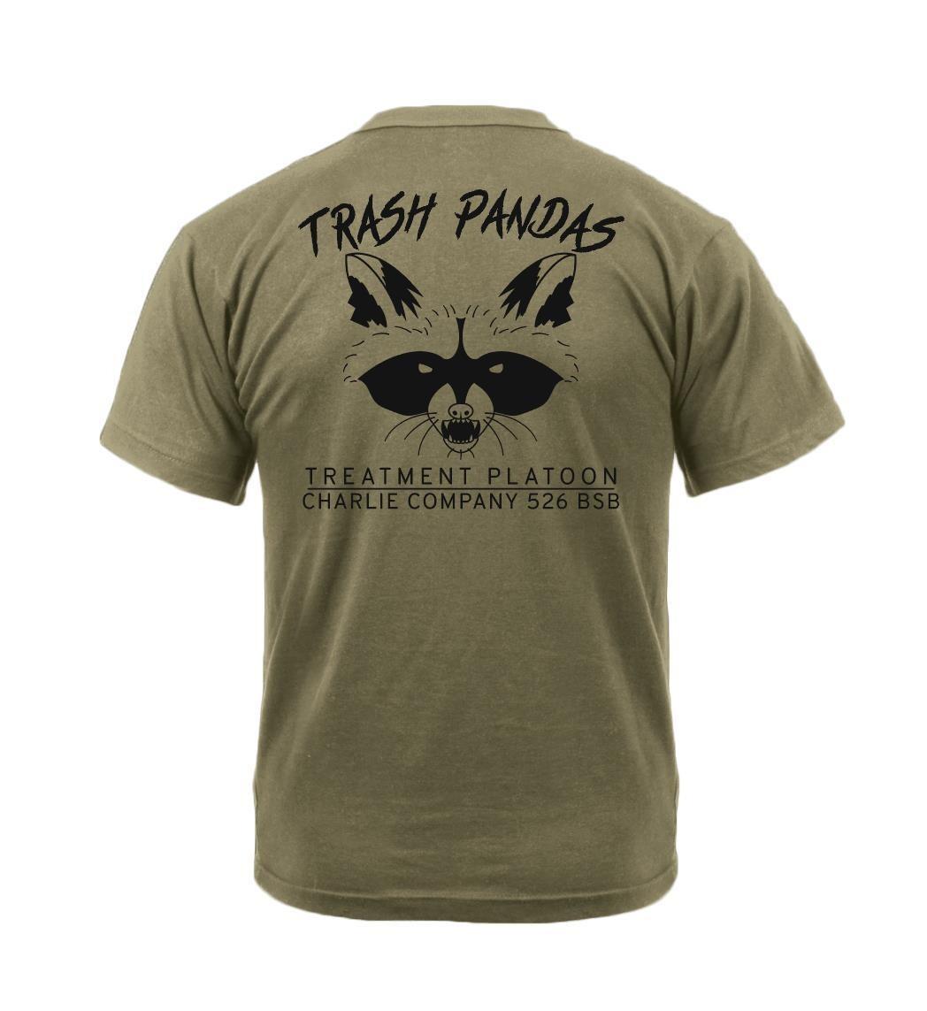 """TXT PLT """"Trash Pandas"""" C Co 526 BSB Shirt"""