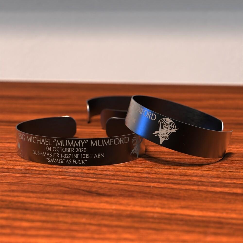 "Michael ""Mummy"" Mumford Memorial Bracelet"
