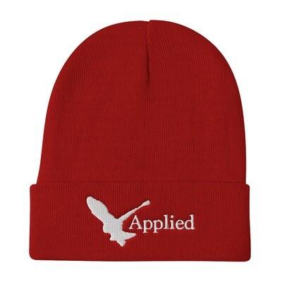 Applied Worldwide Embroidered Beanie