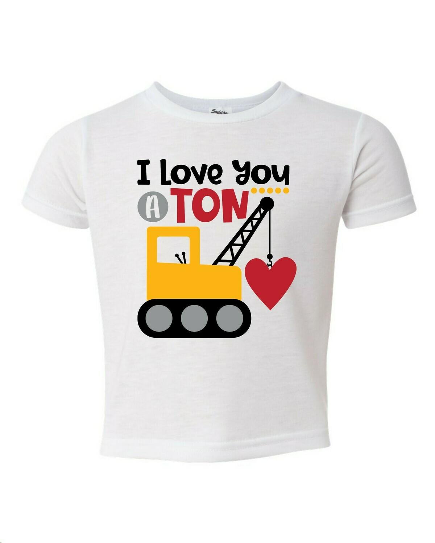 I love you a ton