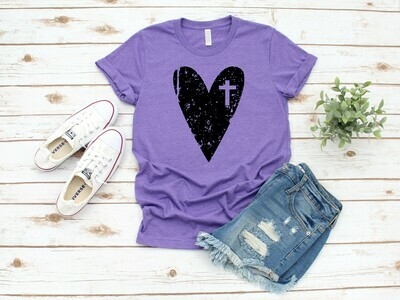 Heart w/ Cross
