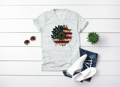 Patriotic Sunflower