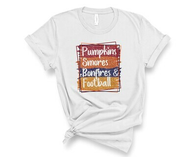 Pumpkins SMores, Bonfire, Football